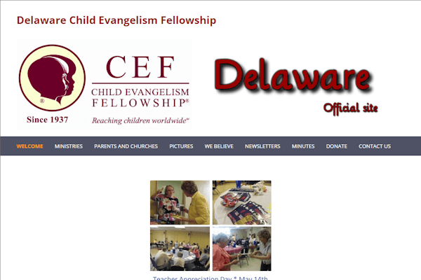 CEF Home Page Image